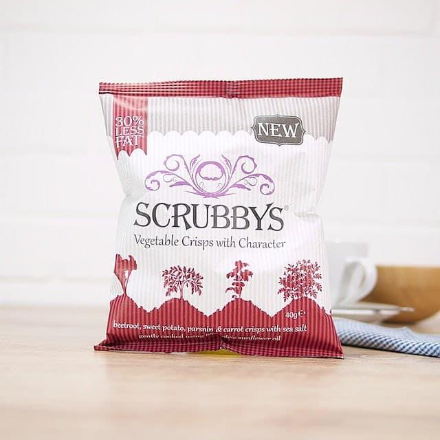 Mixed Vegetable Crisps by Scrubbys