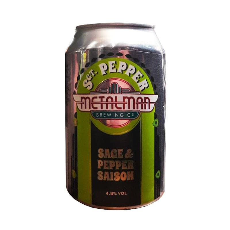 Sgt. Pepper Saison by Metalman Brewing Co