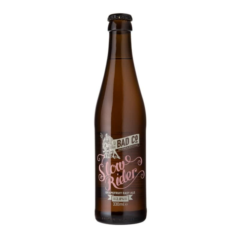 Slow Rider Grapefruit Easy Ale by BAD Co
