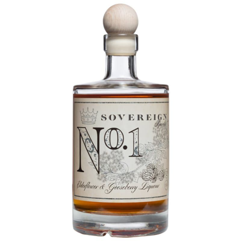 Sovereign Spirits No1 Elderflower & Gooseberry Liqueur by Sovereign Spirits