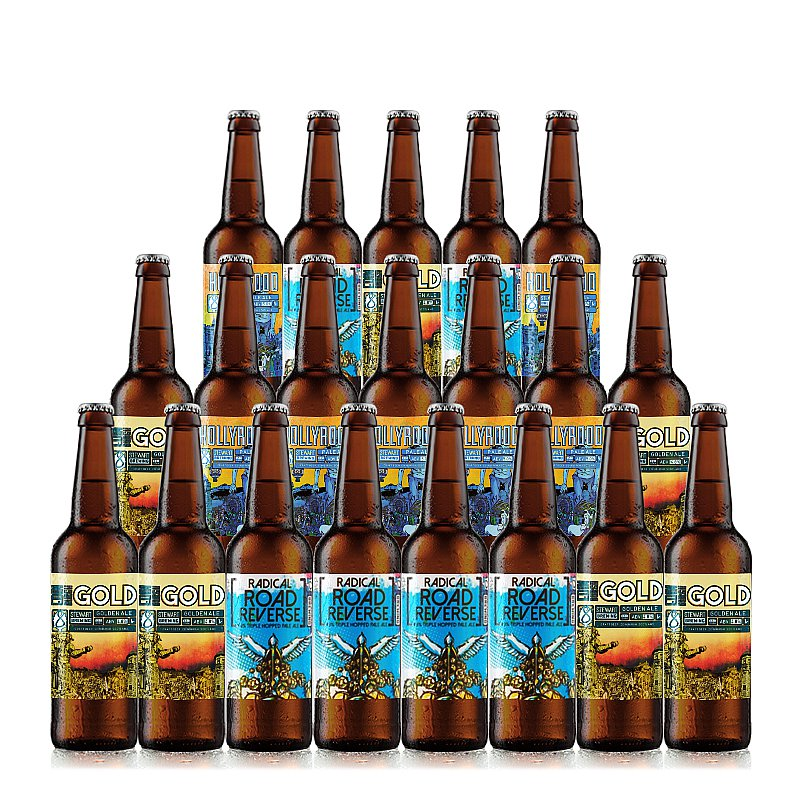 Mixed 20 Case by Stewart Brewing