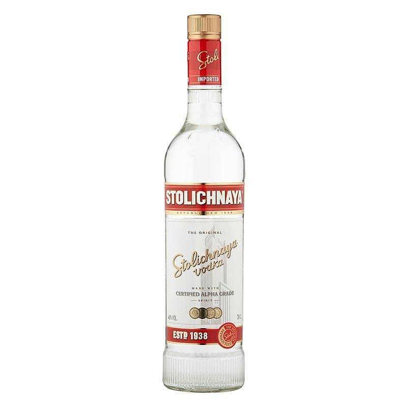 Stolichnaya Red Vodka by Stolichnaya