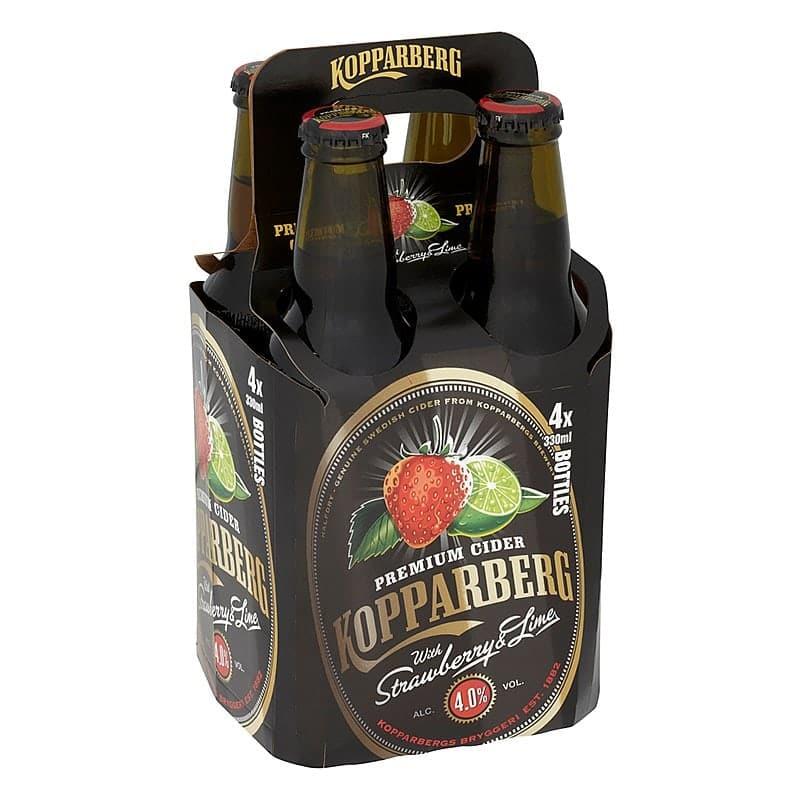 Kopparberg Strawberry & Lime Cider 330ml