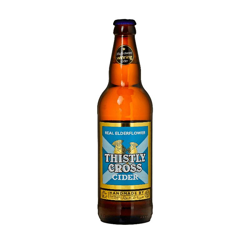 Elderflower Cider by Thistly Cross
