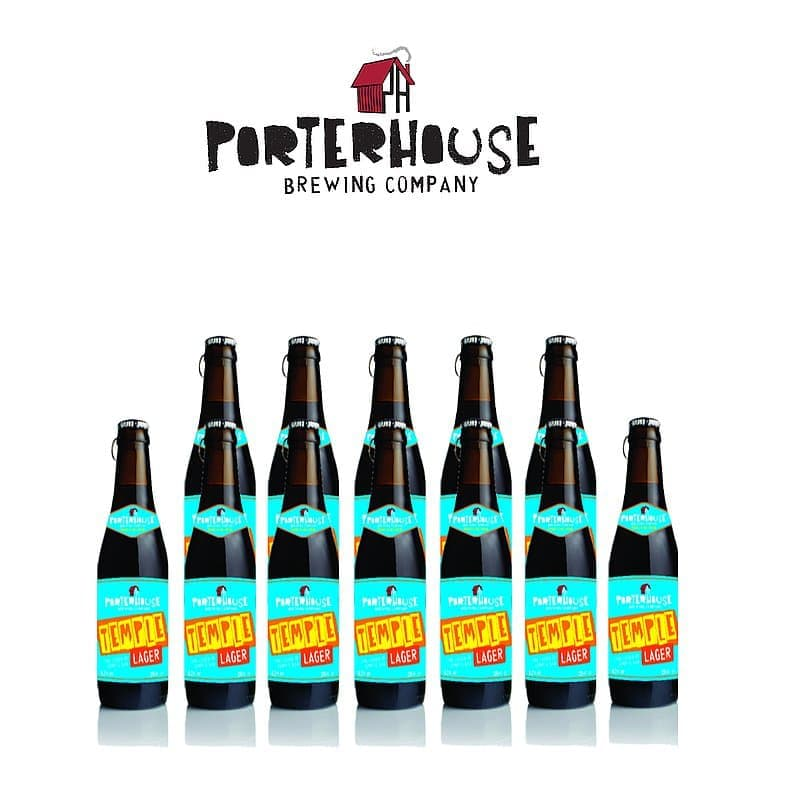Temple Lager 12 Case by Porterhouse Brewing Co.