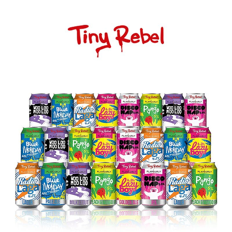 Crowdsourced Collaboration Mixed 24 Case by Tiny Rebel x Flavourly