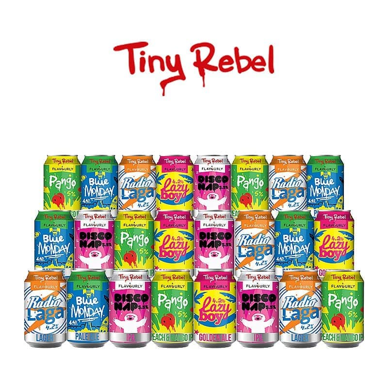 Light 24 Case by Tiny Rebel x Flavourly