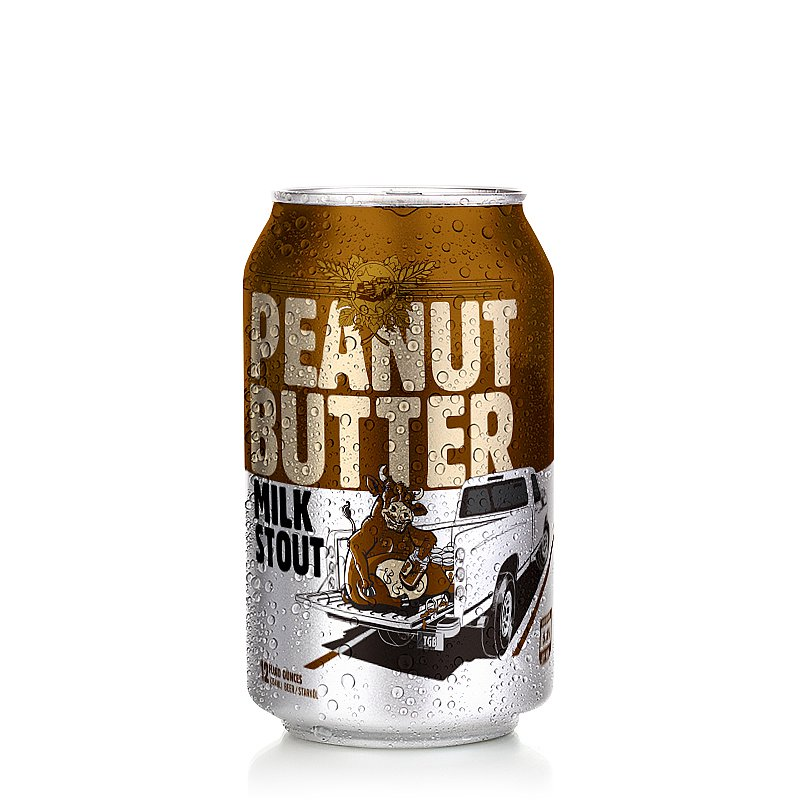 Peanut Butter Stout by Tailgate Brewery