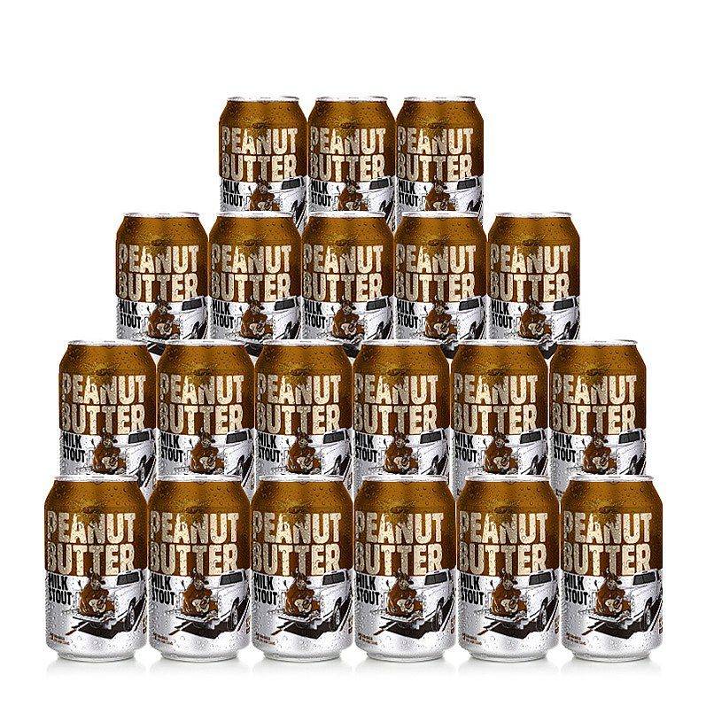 Peanut Butter Stout 20 Case by Tailgate Brewery