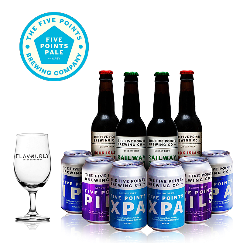 The Five Points Collection by Five Points Brewing Co