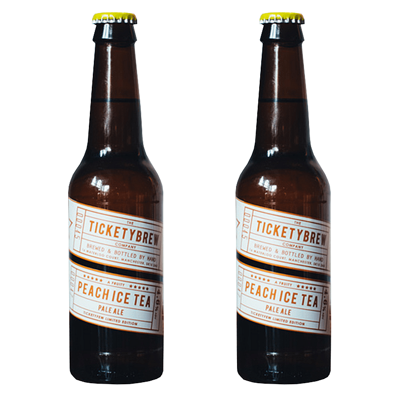 Ticketybrew Peach Iced Tea - Twin Pack by Ticketybrew