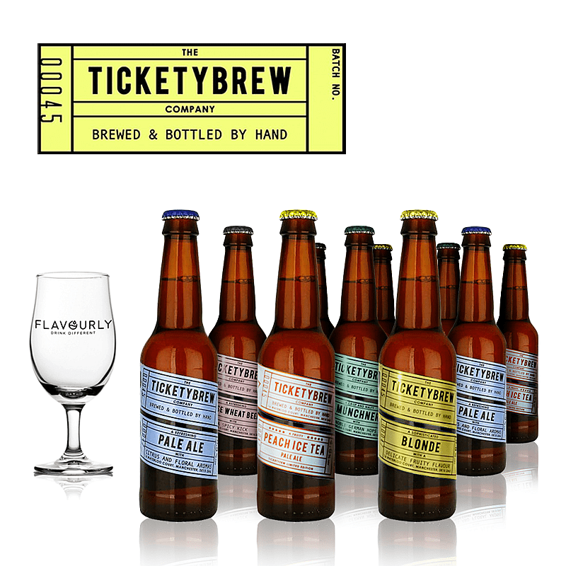 The Ticketybrew Collection by Ticketybrew