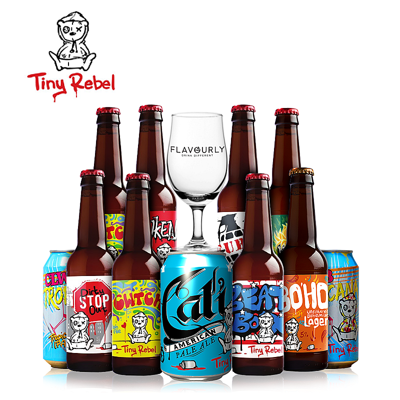 The Tiny Rebel Collection by Tiny Rebel