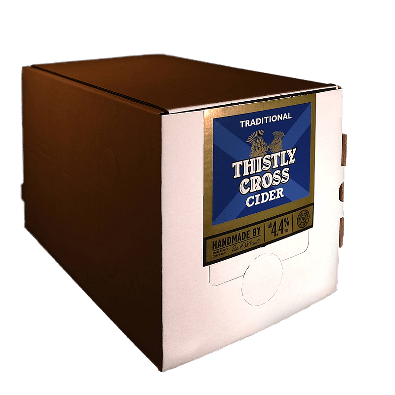 Bag in Box Traditional Cider by Thistly Cross