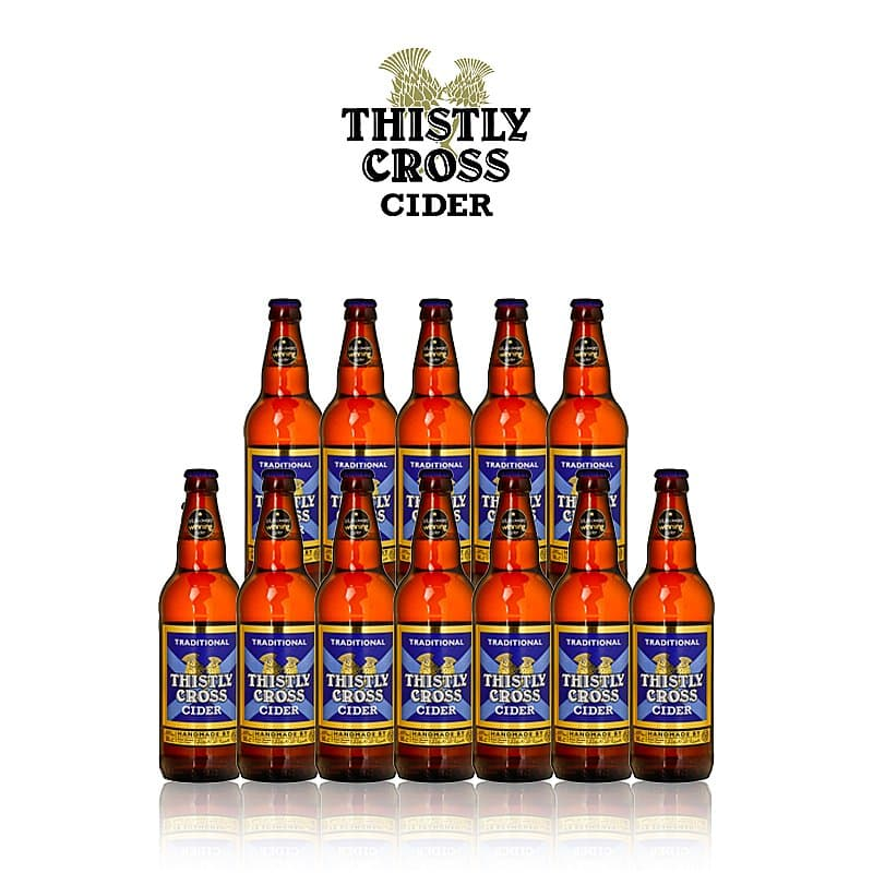 Traditional Cider 12 Case by Thistly Cross