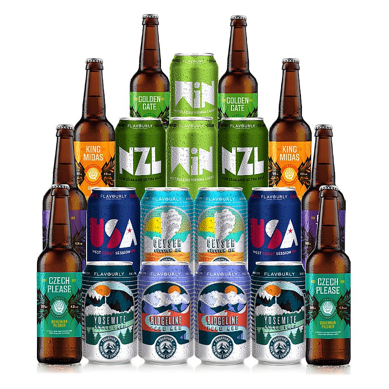 Mixed 20 Case by Flavourly Collaboration Cases
