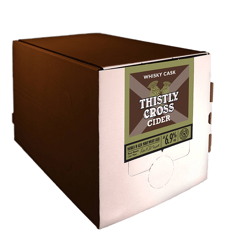 Whisky Cask Cider 5 litre box by Thistly Cross