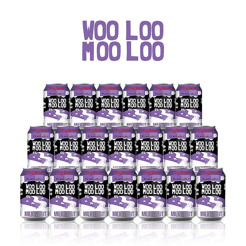 Woo Loo Moo Loo 20 Case by Tiny Rebel x Flavourly