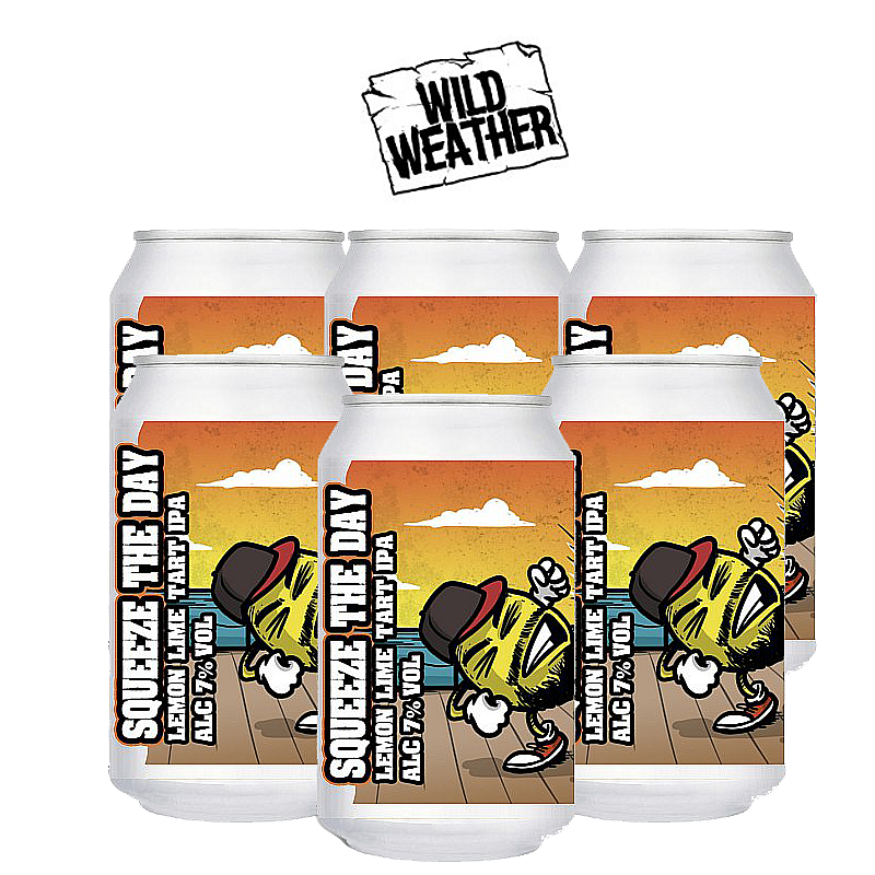 Squeeze the Day 6 Case by Wild Weather Ales