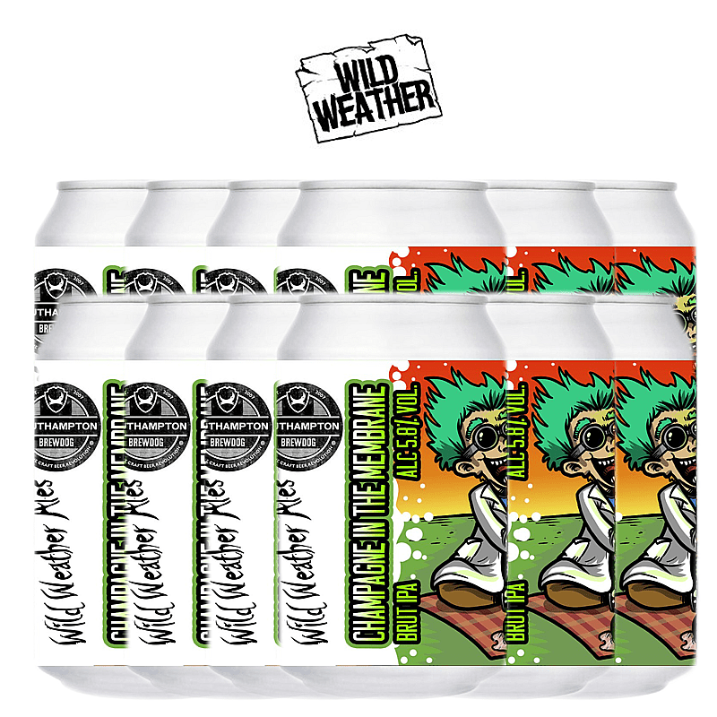 Champagne in the Membrane 12 Case by Wild Weather Ales