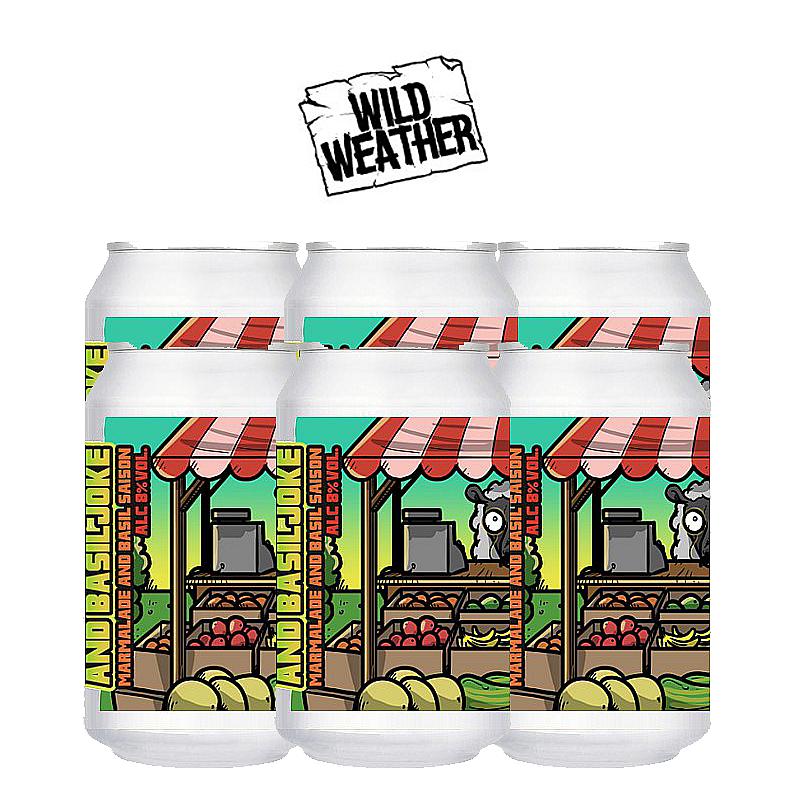 Marmalade & Basil Joke 6 Case by Wild Weather Ales