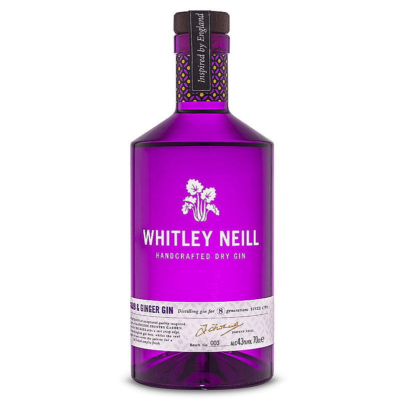 Whitley Neill Rhubarb and Ginger Gin by Whitley Neill