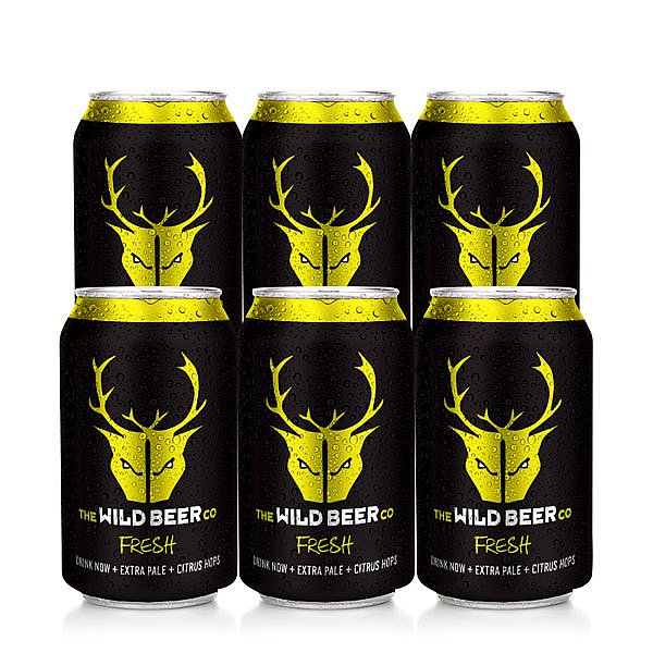 Fresh 6 Case by Wild Beer Co