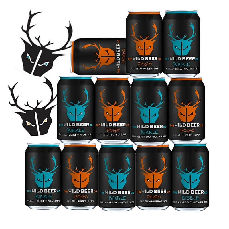 Bibble on Pogo Collection by Wild Beer Co