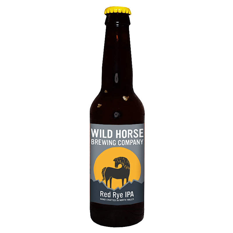 Red Rye IPA by Wild Horse Brewing