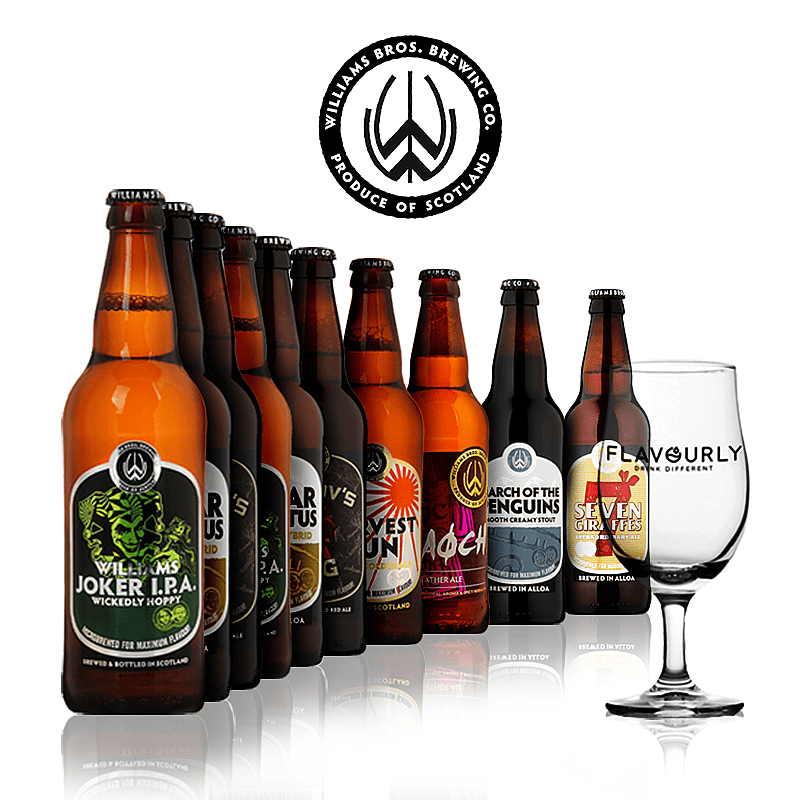 The Williams Bros Collection by Williams Bros Brewing