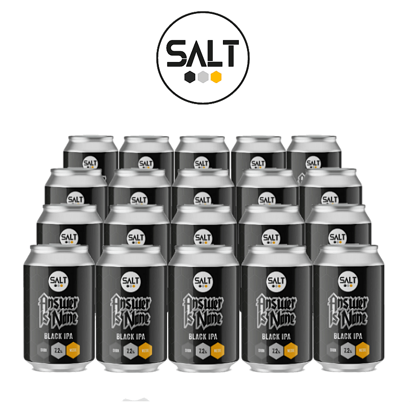 Answer Is None BIPA 20 Case by Salt Beer Factory