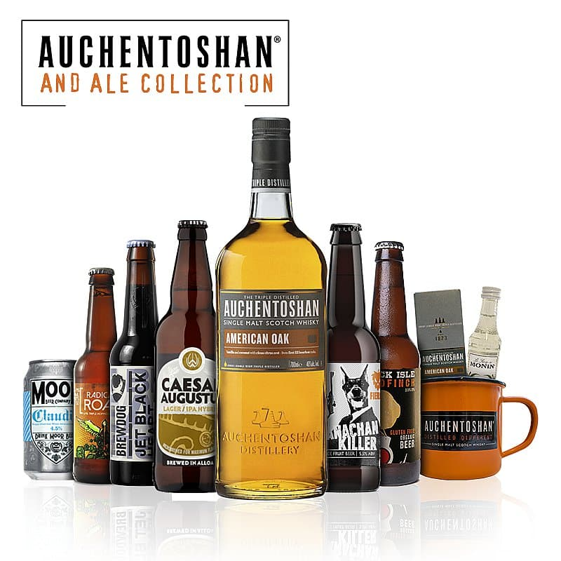 Auchentoshan & Ale Collection