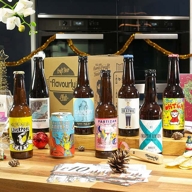 Xmas Light Craft Beer Box by Flavourly