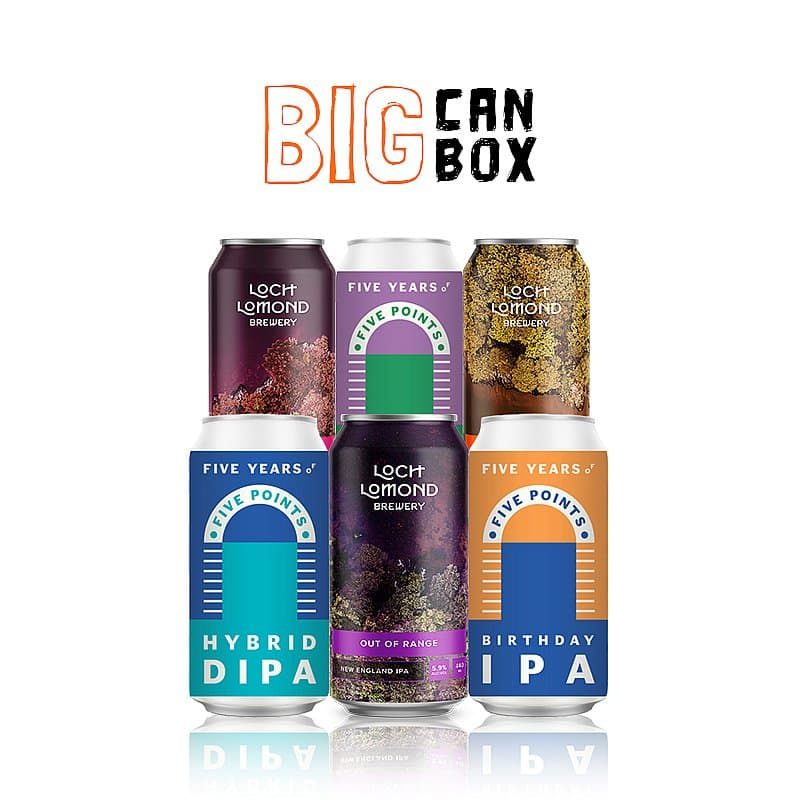 The Big Can Box by Flavourly