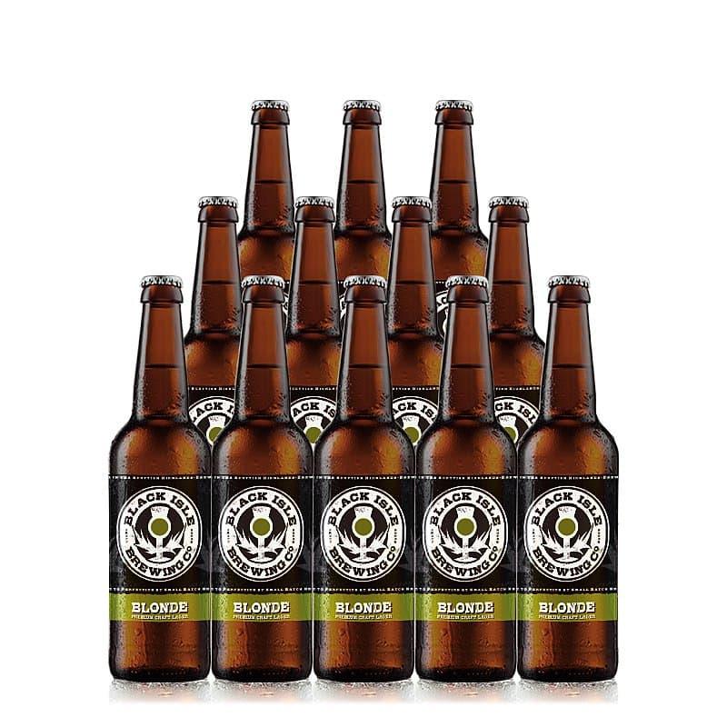 Blonde 12 Case by Black Isle Brewing