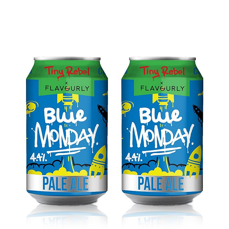 Blue Monday Twin Pack by Tiny Rebel x Flavourly