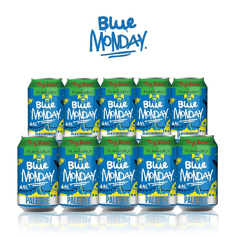 Blue Monday 10 Case by Tiny Rebel x Flavourly