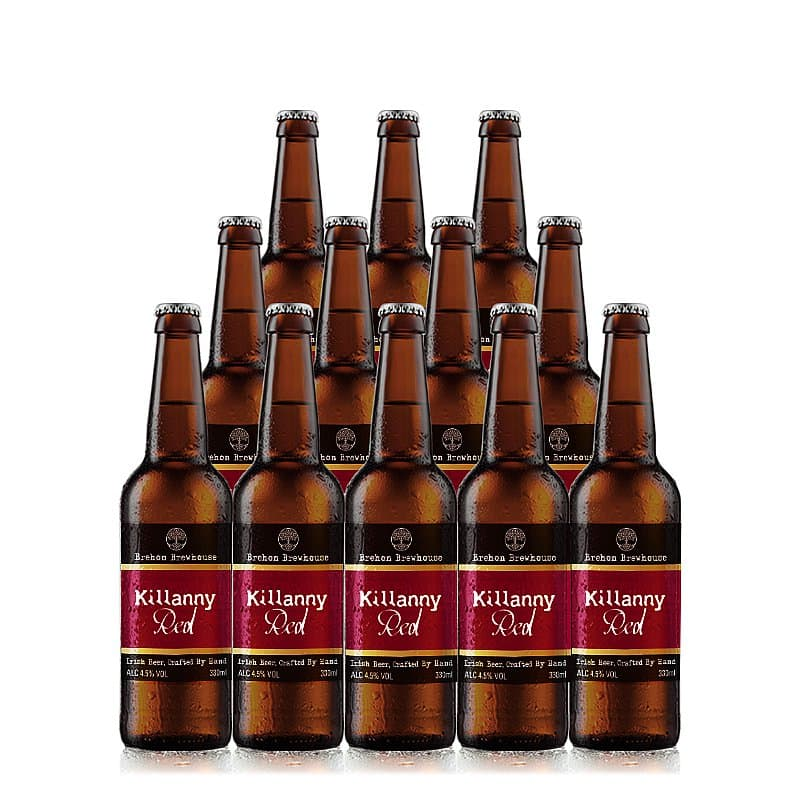 Killanny Red 12 Case by Brehon Brewhouse