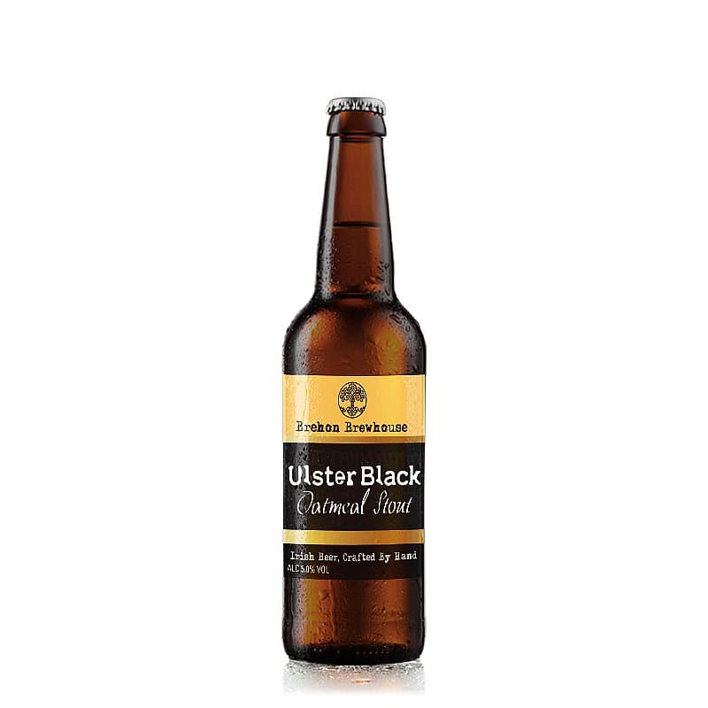 Ulster Black Oatmeal Stout by Brehon Brewhouse