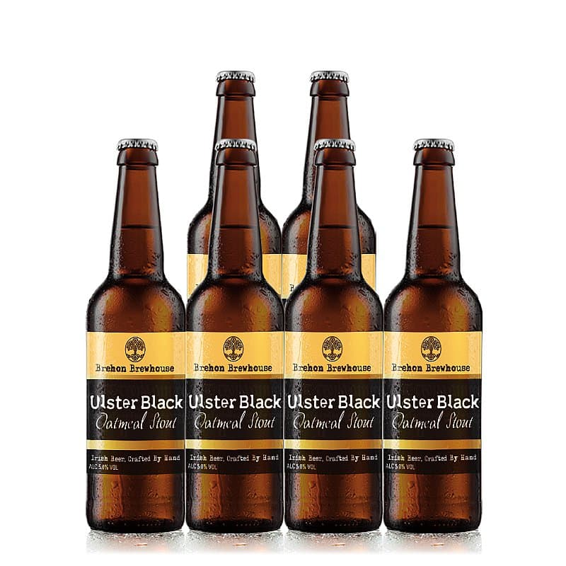 Ulster Black 6 Case by Brehon Brewhouse