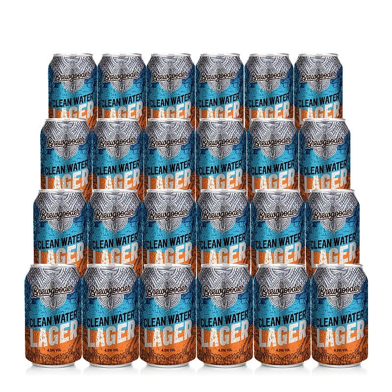 Clean Water Lager 24 Case by Brewgooder