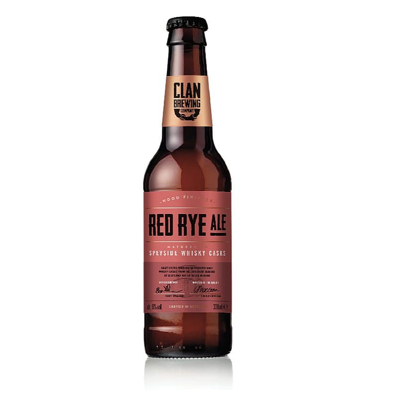 Red Rye Ale by Clan Brewing Co