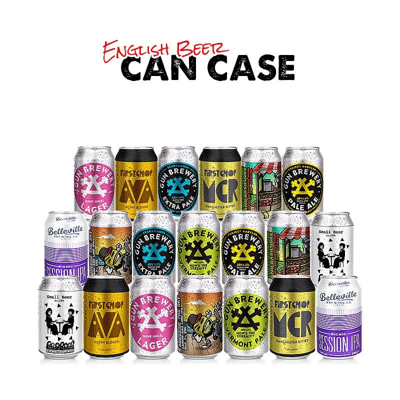 English Can Case (20-beers)