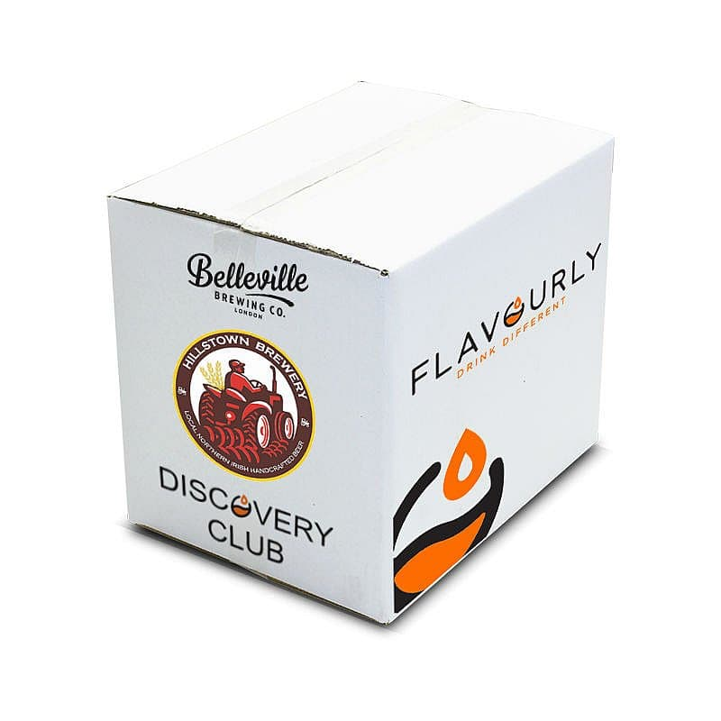 May 2019 Light Beer Discovery Box by Flavourly Beer Discovery Club