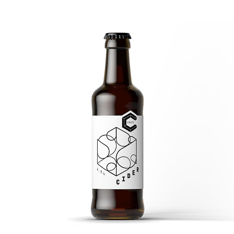 Cider Bottle 330ml by Crate Brewery