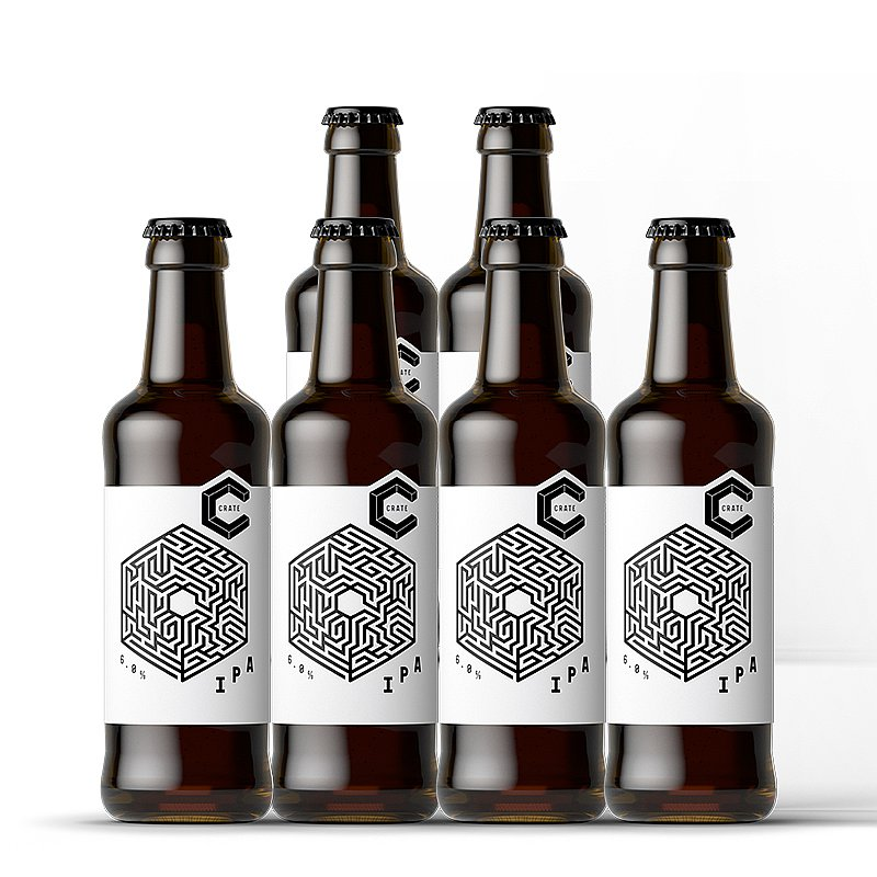 IPA 6 Case by Crate Brewery