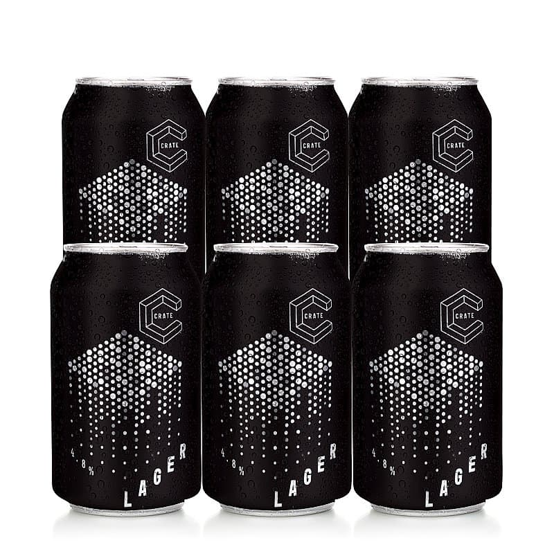 Lager 6 Case by Crate Brewery