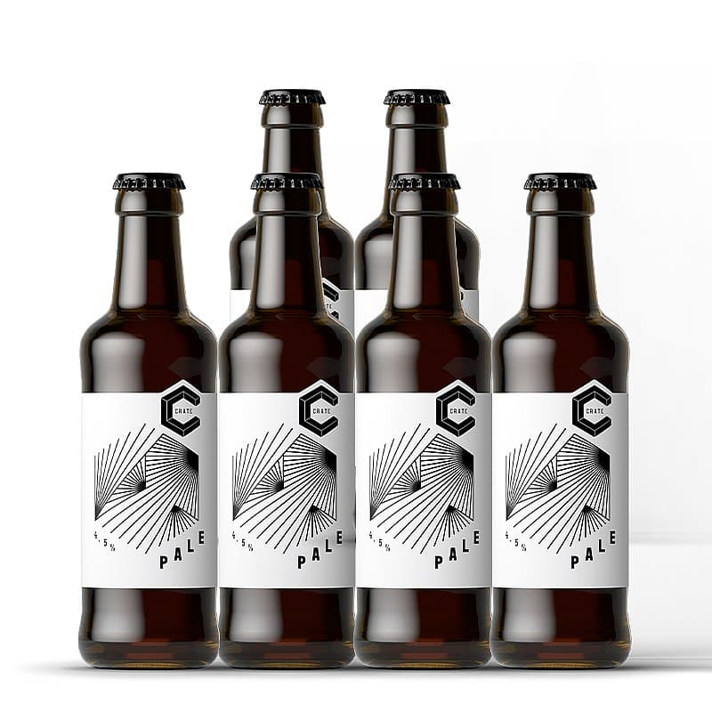 Pale Ale 6 Case by Crate Brewery