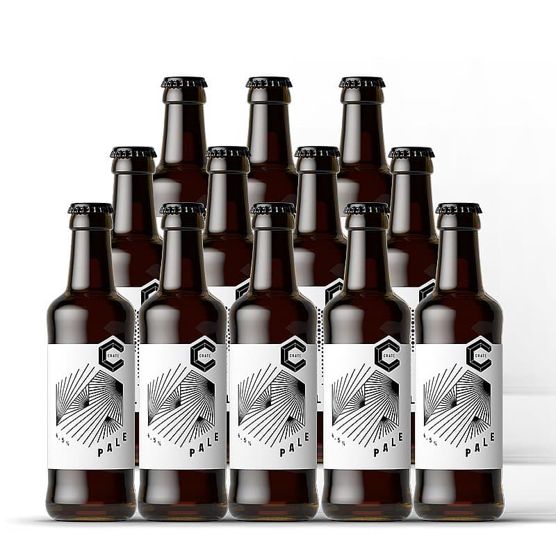 Pale Ale 12 Case by Crate Brewery