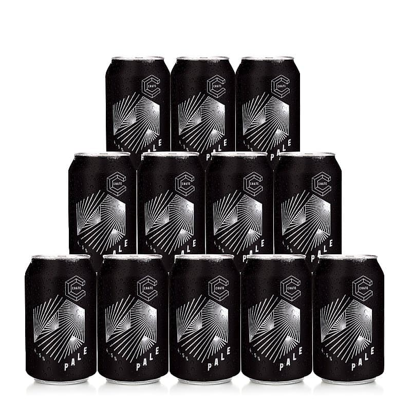 Pale Ale  Cans 12 Case by Crate Brewery